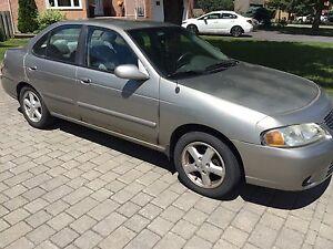 2002 Nissan Sentra GXE - bas KM - low KM!!
