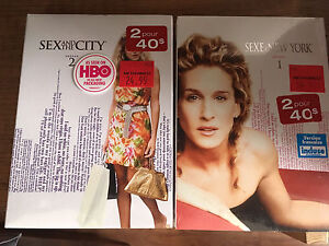Sex and the city saison 1-2 DVD