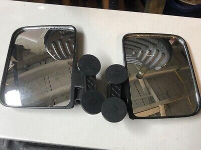 Rubber Coated Magnet Mirrors Tractorskidsteer Kubota B Bx John Deere 1025r Pair