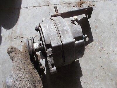 Allis Chalmers Wd Wd45 45 Tractor 12v Alternator Fan Belt Drive Pulley Bracket