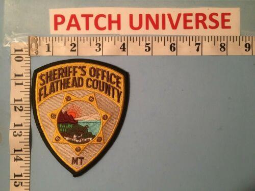 FLATHEAD MONTANA COUNTY SHERIFF SHOULDER PATCH  L073