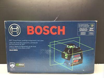 Bosch Gll3-300g 200 Ft. Self-leveling Green 360-degree Laser Level New