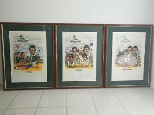 Cricket Memorabilia Signed $600 for all 3 with COA Bundall Gold Coast City Preview