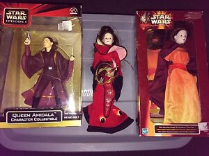 Star Wars Queen Amidala Dolls