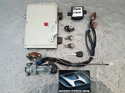 1996-1998 HONDA CIVIC 3 DOOR 1.5 VTEC AUTO ECU KIT + IGNITION BARREL & LOCK SET