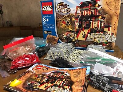 LEGO #7419 Orient Expedition DRAGON FORTRESS -100% Complete incl box & manual