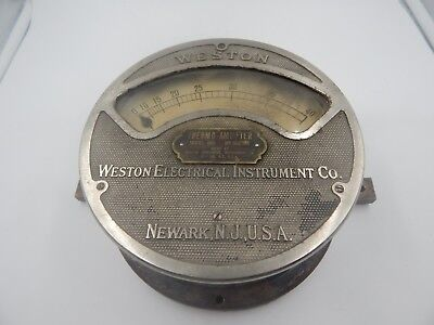 Weston Thermo-ammeter Model 400 Vintage Multimeter Large