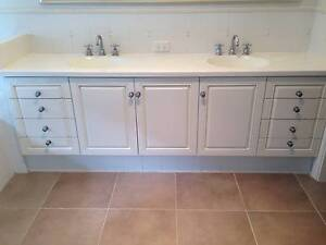 BATHROOM VANITY WITH DOUBLE SINK, PLUS PEDESTAL SINK AND MORE Attadale Melville Area Preview