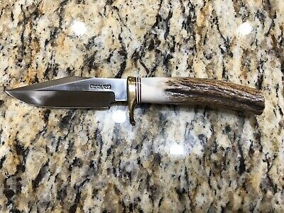 """Randall Knife Model 8-4 Bird and Trout 4"""" Blade with custom made sheath"""