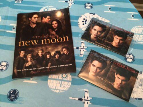 Twilight Saga New Moon Burger King Promo Card Packs & Movie Companion Book 2009