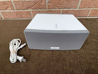 """Sonos PLAY:3 Wireless Speaker White """"Mint Conditions"""""""