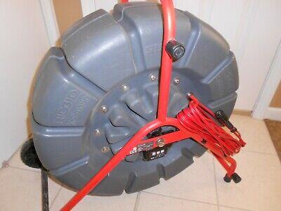 Ridgid Seesnake 185 Color Sewer Camera Self Leveling Head 512 Hz Sonde