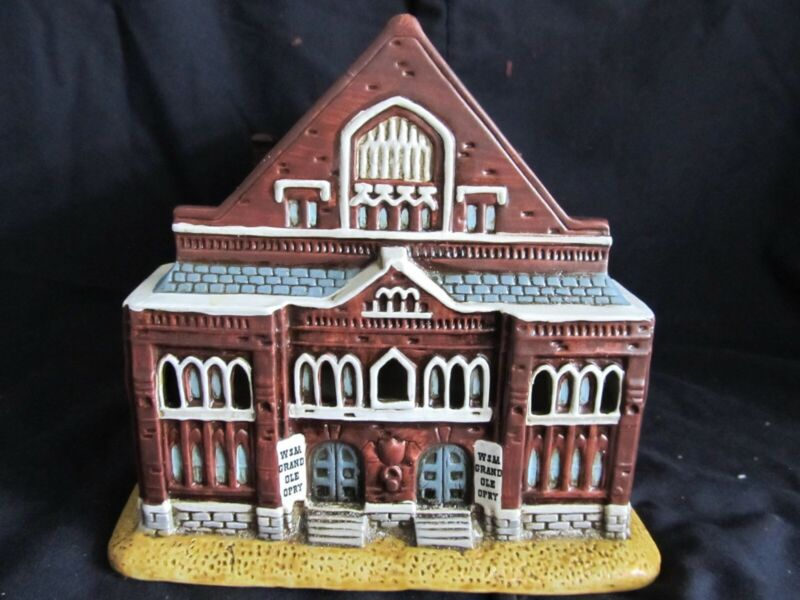 Lefton Co. Special Edition Colonial Village Collection The Ryman Auditorium