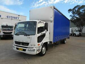 2013 MITSUBISHI FUSO FIGHTER 1024 12 PALLET CURTAINSIDER Arndell Park Blacktown Area Preview