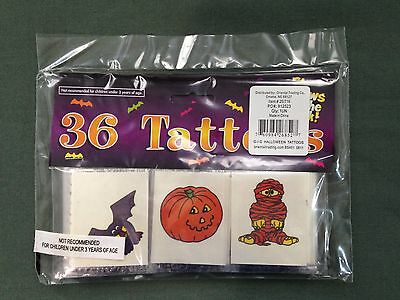 Oriental Trading Halloween Glow in the Dark Tattoos Pack of 36 New in Package](Halloween Tattoos Oriental Trading)