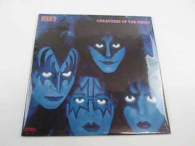 Kiss Creatures Of The Night without OBI  Japan 28S-138 VINYL  LP