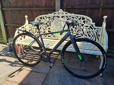 CUBE SL Road Pro - Flat Bar/Hybrid Bike Cycle 50cm  2017 Carbon forks