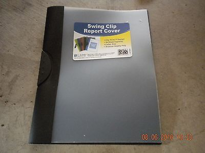Clip Report Cover 30 Sheet (Clip 'N Go Swing Clip Report Cover, 30-Sheet Capacity for 8.5 x 11-Inch Inserts )