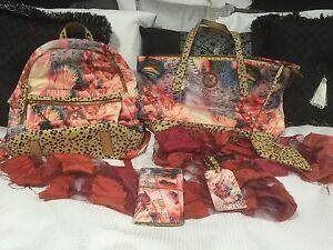 Mimco BNWT Flamingo Backpack, Tote, Passport and Luggage Set Thornlands Redland Area Preview
