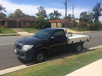 MAN WITH UTE