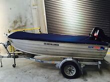 Quintrex Dory 4.2 Newport Hobsons Bay Area Preview