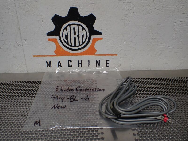 Electro Corporation 4914-BL-G Proximity Sensor New No Box See All Pictures