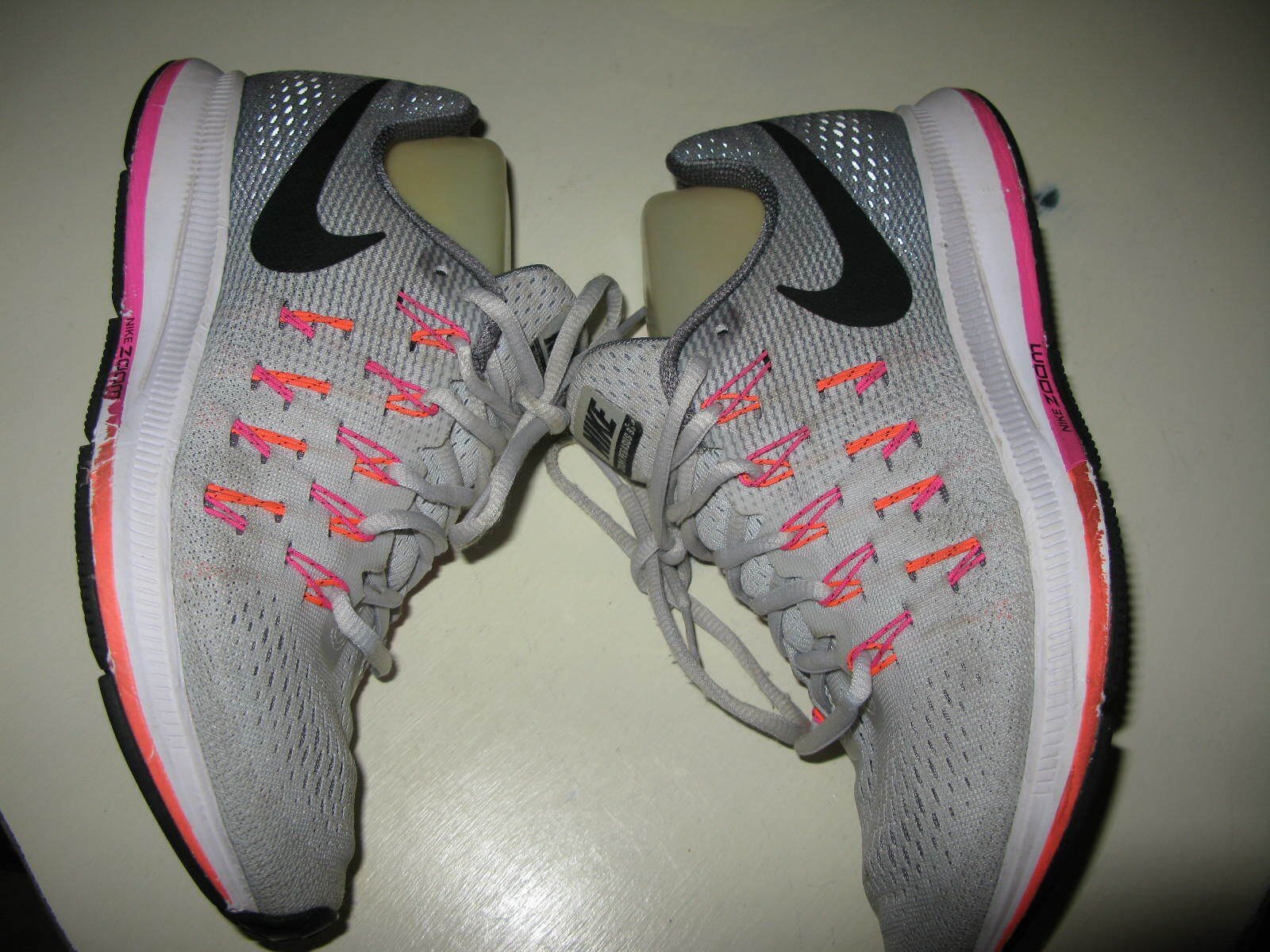 Nike Air Zoom Pegasus 33 Women Running Shoes Size7.5M EUC