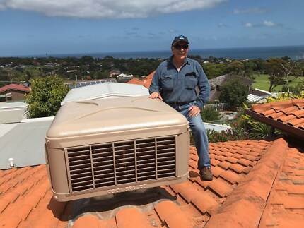 Evaporative Air Conditioner Replacement ( no ducts ) from $2450