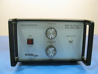 Noisecom Nc6107 Noise Generator 100hz To 100mhz - 90 Day Warranty - Tested