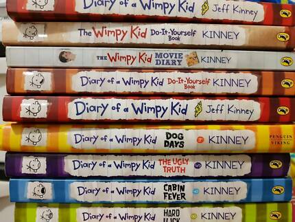 Diary of a wimpy kid books 1 10 by jeff kinney childrens books diary of a wimpy kid jeff kinney solutioingenieria Images