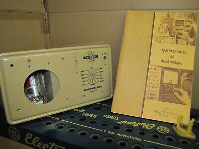 New In Box Vintage Vom Kit Never Build Teccart Analog Voltmeter Acdc Ammeter