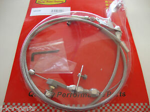 CHRYSLER MOPAR 727 STAINLESS BRAIDED KICKDOWN CABLE 727 TRANS. DETENT #6056