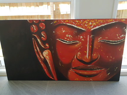 Samsara balinese canvas wall art