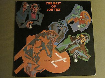THE BEST OF JOE TEX LP ORIG '84 ATLANTIC A1-81278 R&B FUNK SOUL