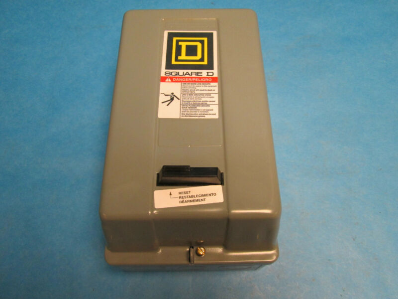 Square D 8536SBO2H20S Size 0 Contactor Starter In Enclosure