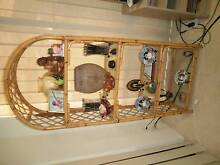 Cane Display Shelf & Matching Coffee Table Redcliffe Belmont Area Preview