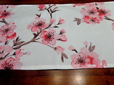 Pink Cherry Blossoms Table Runner   Home Decor, Parties, Showers