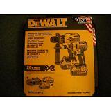 Dewalt DCK299P2 20V Cordless Brushless Combo Kit  2-Tool 5.0Ah DCD996 DCF887 NEW