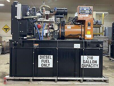 60 Kw Diesel Generator Generac John Deere Tier 3 Emissions 120240 Volt