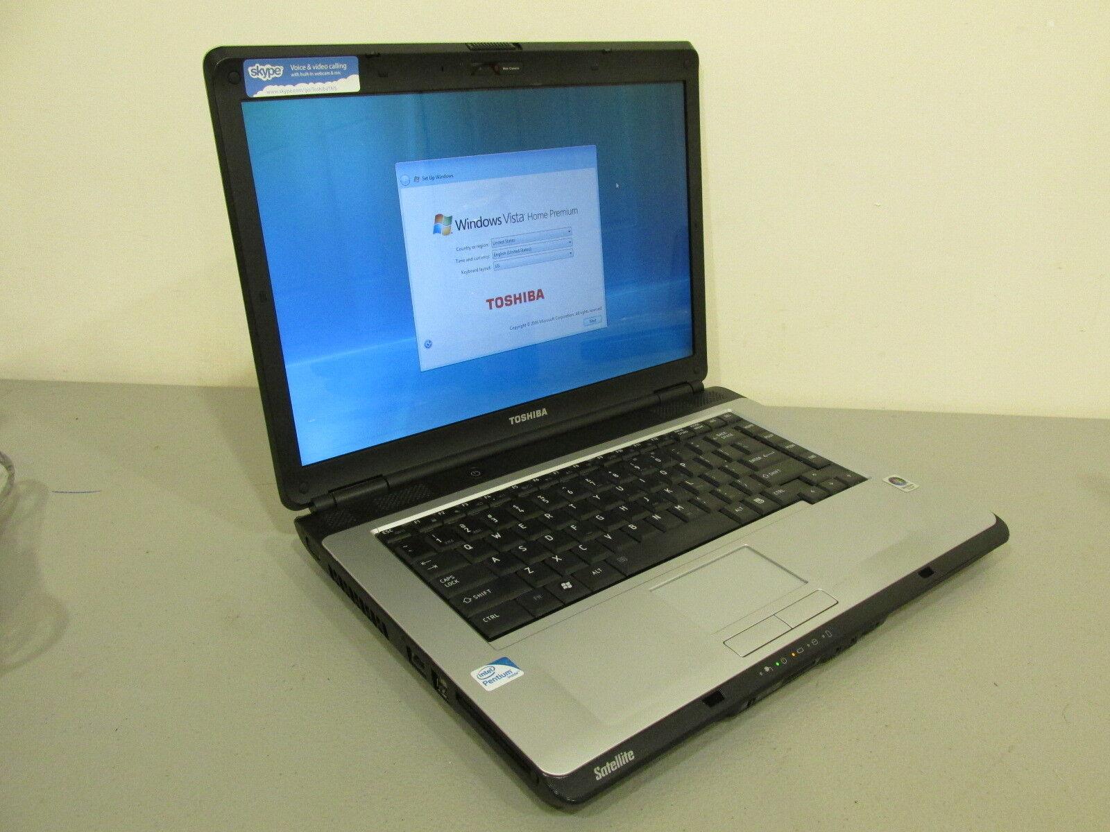 Toshiba Satellite - (L305-S5968) - Laptop - Windows Vista - For Parts or Repair