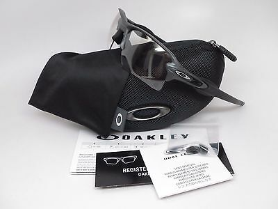 Oakley Flak 2.0 XL OO9188-16 Steel w/Clear Black Iridium Photochromic Sunglasses