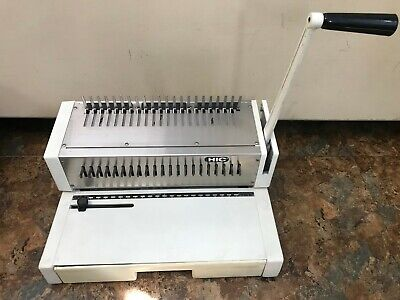 Hic Hpb-210 Manual Plastic Comb Binding Machine