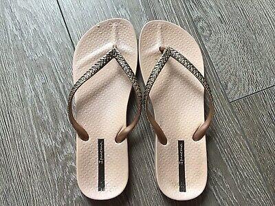 Ladies Ipanema Flipflops Size Eur 40 Or Uk 6.5