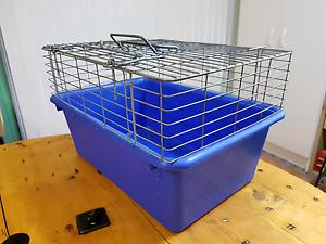 Pet cage transport carrier. Measures approx 47cm L x32cm w x28.5c Ascot Brisbane North East Preview