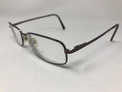 VERSACE Eyeglasses Mens Italy Mod.1039 1006 56-17-140 Polished Brown Q591