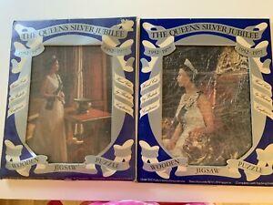 Queen Elizabeth silver jubilee jigsaw puzzles