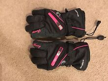 Swanny black and hot pink snow gloves - medium size Turner North Canberra Preview