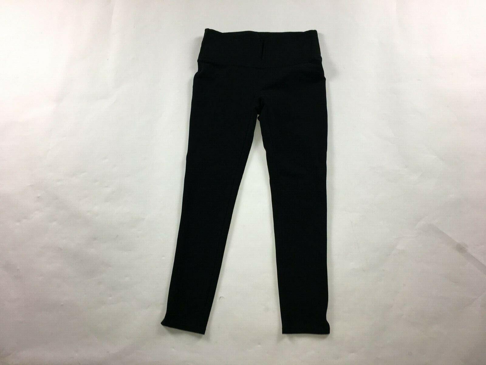 Women s Ready To Wow Spanx Yoga Pants Size M Medium Black Capri High Waist 789 - $34.99
