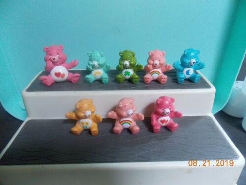 8 Care Bears figures