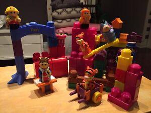 Ensemble de blocs Winnie de Pooh - À VENDRE